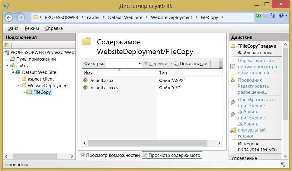 Копирование сайта asp на хостинг sharepoint-хостинг-провайдер