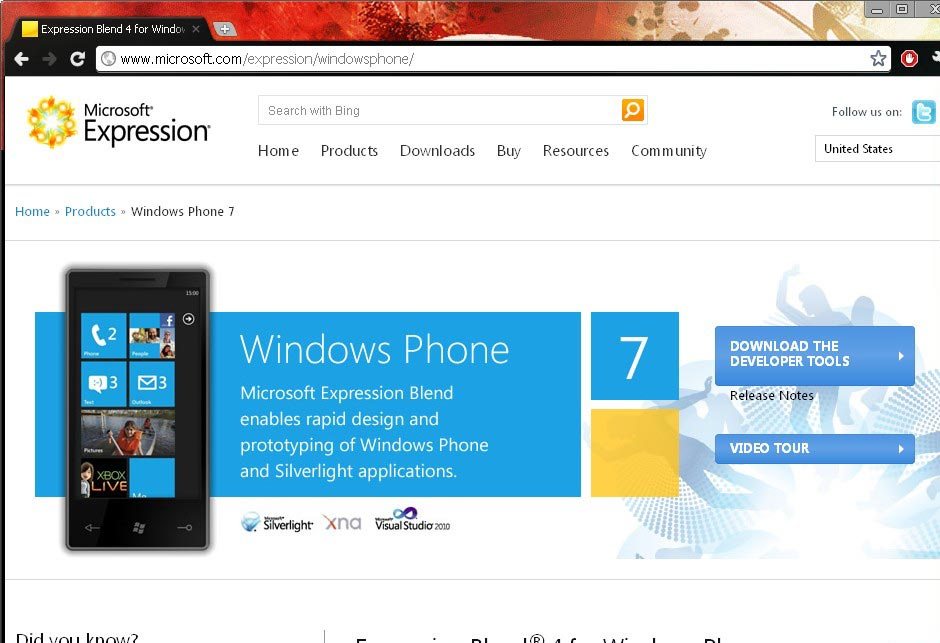 Windows Phone 7 SDK